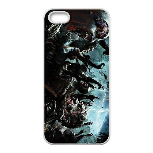 Dead Island Riptide K7B67 G2Q7IS coque iPhone 4 4s cellulaire cas de téléphone couvercle coque blanche WR4PVO4ZP