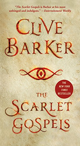 Book cover from The Scarlet Gospelsby Clive Barker