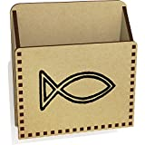 Azeeda 'Christian Fish' Wooden Letter Holder / Box (LH00025219)