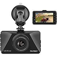 AKASO Dash Cam FHD 1080P 3 Inch Screen Dash Camera 170...