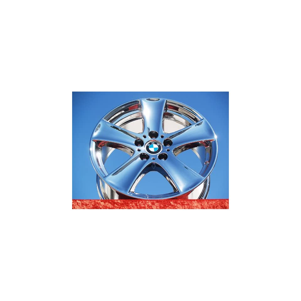BMW X5Style 209 Set of 4 genuine factory 18inch chrome wheels