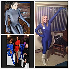 - 51Ve9uU3rRL - Spandex Full Bodysuit One Piece Unitard Women Unitards For Women