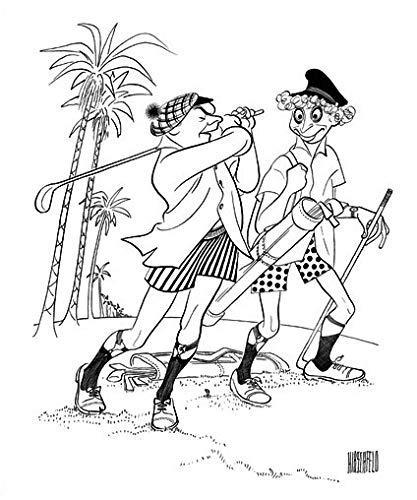 - Al Hirschfeld's BLACK TIE ONLY Hand Signed Original Pen & Ink Drawing