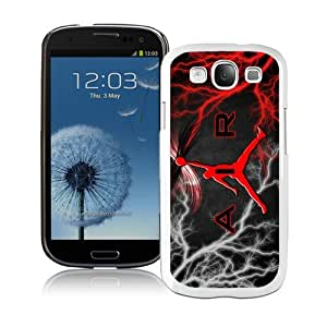 High Quality Samsung Galaxy S3 I9300 Case ,Cool And Fantastic Designed Case With Michael Jordan Logo White Samsung Galaxy S3 I9300 Cover