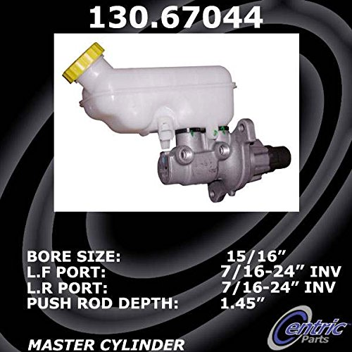 Centric 130.67044 Premium Brake Master Cyl