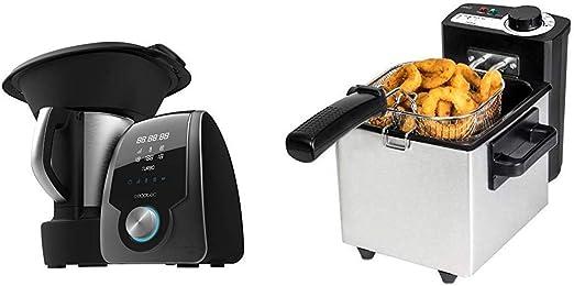 Cecotec Robot de Cocina Multifunción Mambo 7090 + Freidora Eléctrica CleanFry: Amazon.es: Hogar