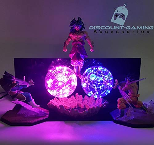 Discount-Gaming Goku and Vegeta vs Broly Lamp (Vs Vegeta Goku)