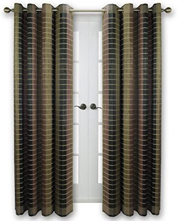 Versailles Home Fashions BPU144884-12 Bamboo Wood Curtain Panel