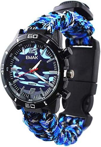 Relojes Supervivencia Militar Multifuncional Relojes Brújula para ...