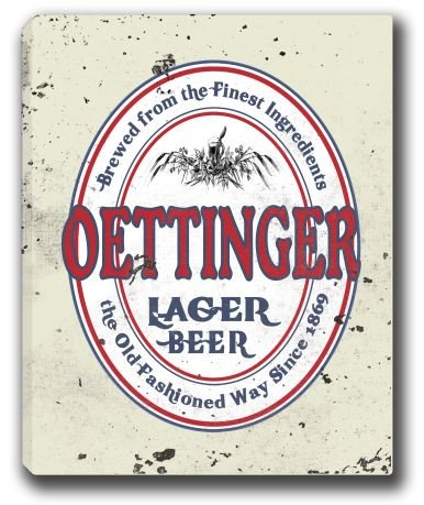 oettinger-lager-beer-stretched-canvas-sign