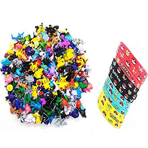 Party Decorations Supplies Bundle Favors Pack-24 Mini Action Figures,12 Bracelets Kids & Adult Party Celebration