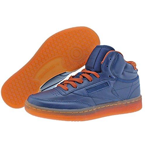 Reebok Men s Club C Mid Cord Fashion Sneaker 579b9aadf