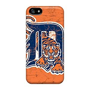 Flexible Tpu Back Case Cover For Iphone 5/5s - Detroit Tigers