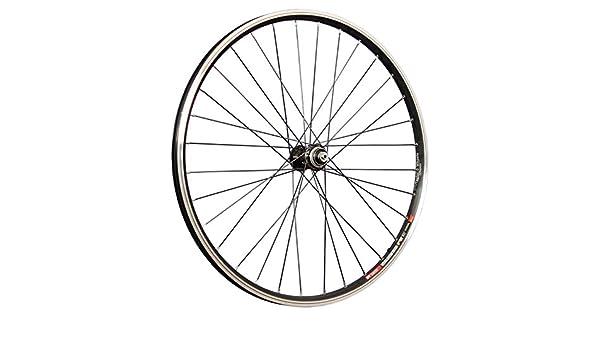 Taylor Wheels rueda delantera para bicicleta de 26 pulgadas DT Swiss 535 Deore XT disco Hub Negro: Amazon.es: Deportes y aire libre