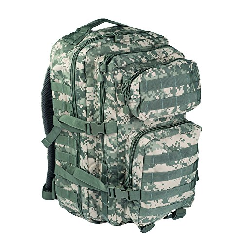 (Mil-Tec Military Army Patrol Molle Assault Pack Tactical Combat Rucksack Backpack Bag 36L ACU Digital)