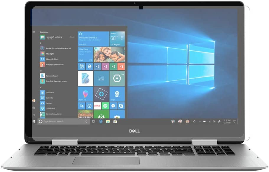"""PcProfessional Screen Protector (Set of 2) for Dell inspiron 17 7000 Series 7786 17.3"""" Screen Laptop Anti Glare Anti Scratch"""