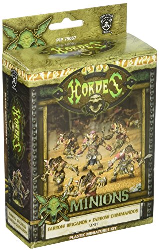 Privateer Press Hordes Minions Farrow Brigand/Farrow Commandos - Farrow.com