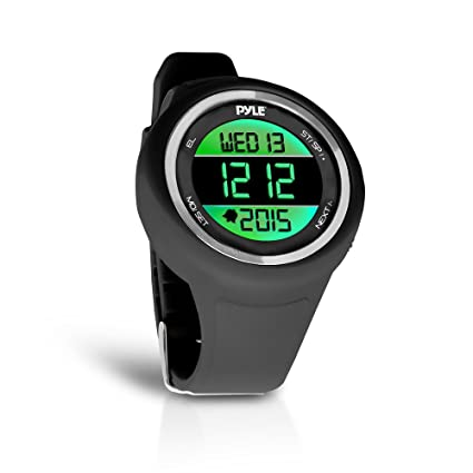 Pyle Multifunction Sports Training Wrist Watch - Smart Classic Sport Running Digital Fitness Gear Tracker w