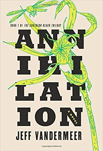 Image result for annihilation book cover