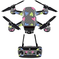 Skin for DJI Spark Mini Drone Combo - Girly| MightySkins Protective, Durable, and Unique Vinyl Decal wrap cover | Easy To Apply, Remove, and Change Styles | Made in the USA