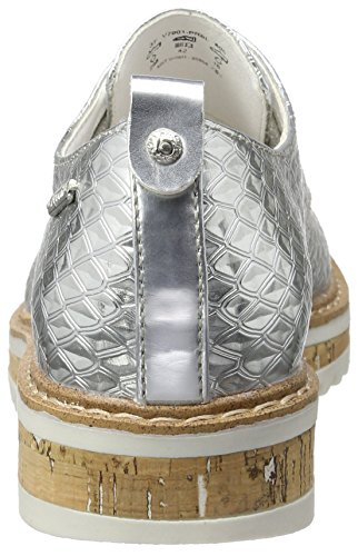 Argent Bugatti Baskets V7001pr6l Femme 805 silber Basses xI1107nwqR
