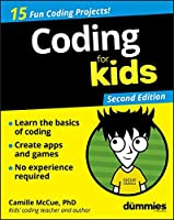 Coding For Kids For Dummies, 2nd Edition Front Cover