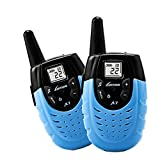 Kids Walkie Talkie,Portable Two-way Long Range Small interphone for Child gift Toy. Blue (Pair)