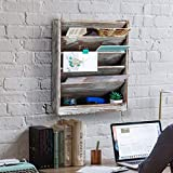 Superbpag Wood Wall Mounted File Holder Organizer