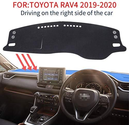 適用 トヨタ 新型RAV4 2019~2020 (XA50系) 専用 ダッシュボードカバー ダッシュマット車内 内装 日焼け防止 ダッシュボードライト保護マット
