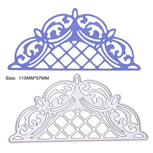 2019 Halo Metal Die Cutting Dies Handmade Stencils Template Embossing for Card Scrapbooking Craft Paper Decor by E-Scenery (E)]()
