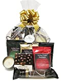 Global Gourmet Coffee Christmas Gift Basket for Men and Women Featuring Small Batch Selections with Global Flair
