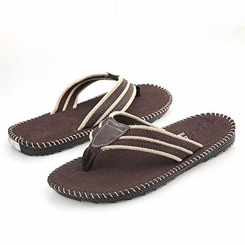 e infradito scarpe B RBB uomo piatto stile infradito spiaggia in pantofole traspirante da britannico da Tendenza sandali aanT6