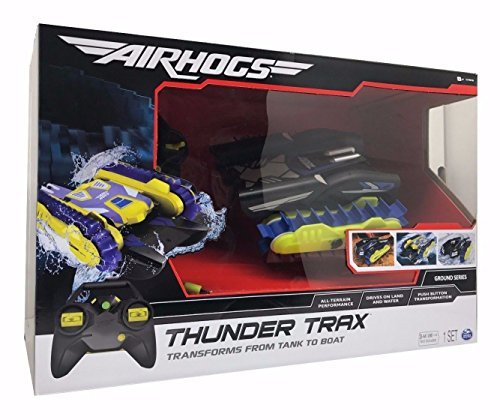 Airhogs  Air Hogs  Ground Series Thunder Trax Land Water R C Vehicle Tank To Boat