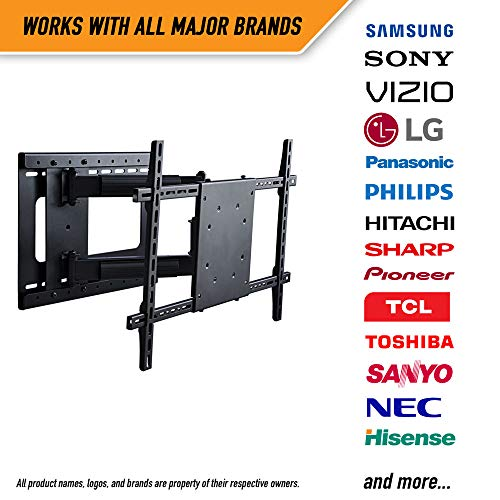 Aeon Stands and Mounts 40200 full motion TV wall mount with 28'' Extension (Black) by Aeon Stands and Mounts (Image #9)