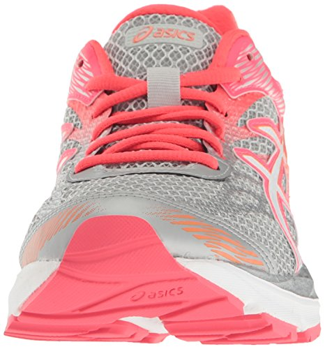 Zapato De Running Asics Para Mujer Gel-flux 4 Gris Medio / Blanco / Rosa Diva
