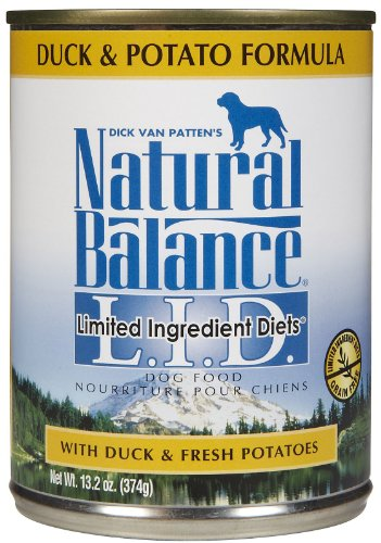 Natural Balance Limited Ingredient Diets Duck & Potato Formula - 12x13oz