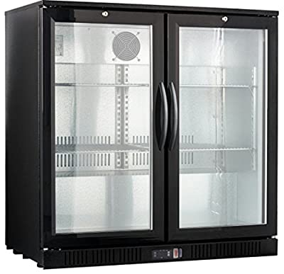 "36"" Wide 2-door Back Bar Beverage Cooler"