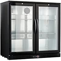 36 Wide 2-door Back Bar Beverage Cooler