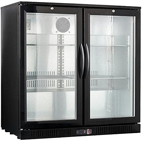 36 Wide 2 Door Back Bar Beverage Cooler