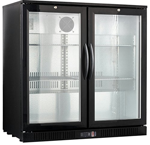 36″ Wide 2-door Back Bar Beverage Cooler
