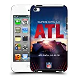 Official NFL Mercedes-Benz Stadium Atlanta 2019 Super Bowl LIII Hard Back Case Touch 5th Gen/Touch 6th Gen