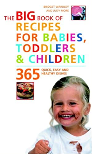 big book of recipes for babies toddlers children