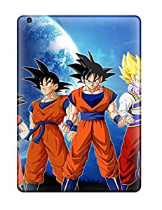 AnthonyJNixon Snap On Hard Case Cover Goku And Super Saiyan - Dragonball Z Protector For Ipad Air