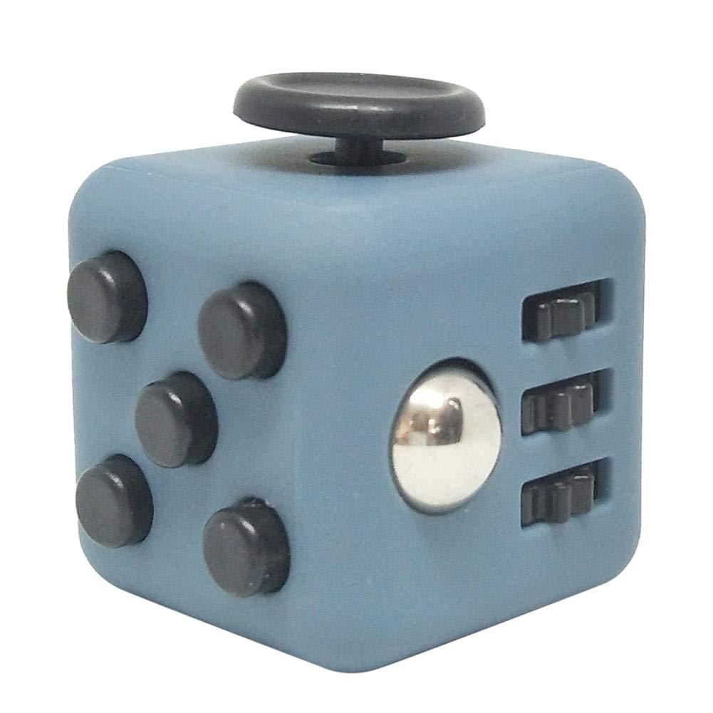 TARTIERY Fidget Cubo Juguete Antiestr/és Stress Cube Alivia El Estr/és Y La Tensi/ón Para Ni/ños Y Adultos Juguete De Atenci/ón A La Ansiedad Juguete De Dedo Sensorial Para ADHD