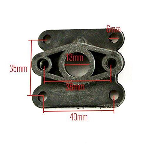 Generic Intake Manifold Inlet 43cc 47cc 49cc 2 Stroke Mini Pocket X SUPER DIRT Bike ATV