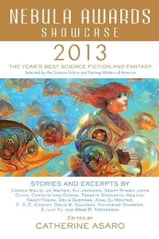 book cover of Nebula Awards Showcase 2013