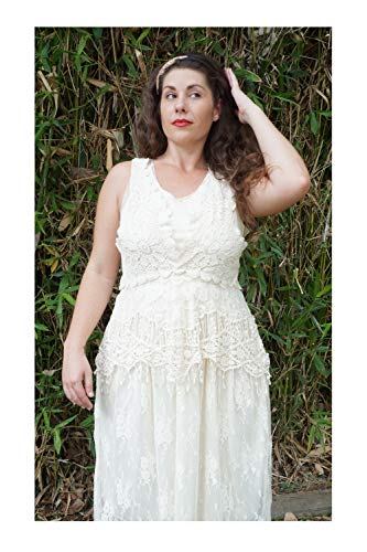 Femme Beige Robe Small kaci Empire Anna tqwnF86xx