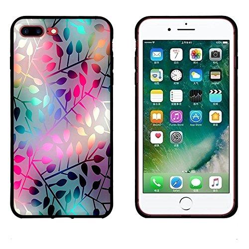Funda iPhone 7 plus, FUBAODA [Flor rosa] caja del teléfono elegancia contemporánea que la manera 3D de diseño creativo de cuerpo completo protector Diseño Mate TPU cubierta del caucho de silicona suav pic: 24