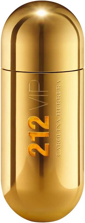 Carolina Herrera 212 VIP Agua de Perfume Vaporizador - 80 ml (205144): Amazon.es: Belleza