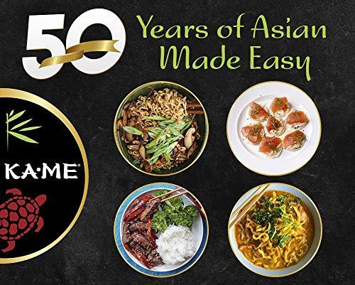 Ka-Me Gluten-Free Rice Crackers, 3.0 Oz. Pouches, 6 Pack (400404), Black Sesame & Soy Sauce, 18 Oz